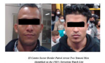 Border Patrol Catches 2 Yemenis on FBI Terror Watch List