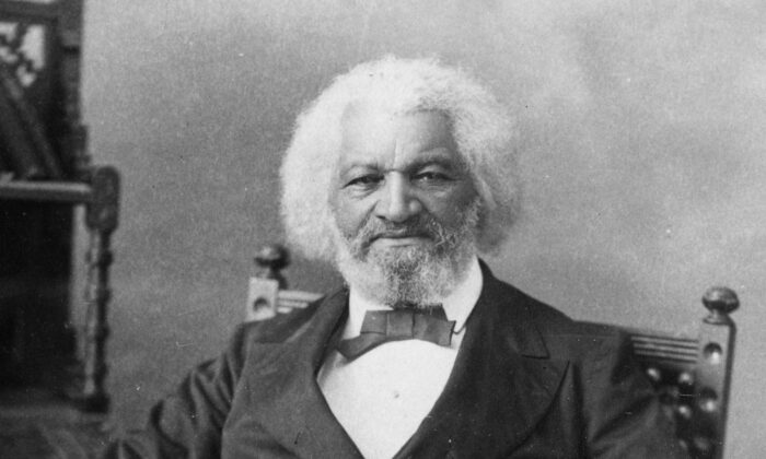 """To suppress free speech is a double wrong. It violates the rights of the hearer as well as those of the speaker,"" said Frederick Douglass (1817-1895). (MPI/Getty Images)"