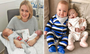 Mom Delivers 'Super Twins' on the Same Day Despite Being Conceived 3 Weeks Apart