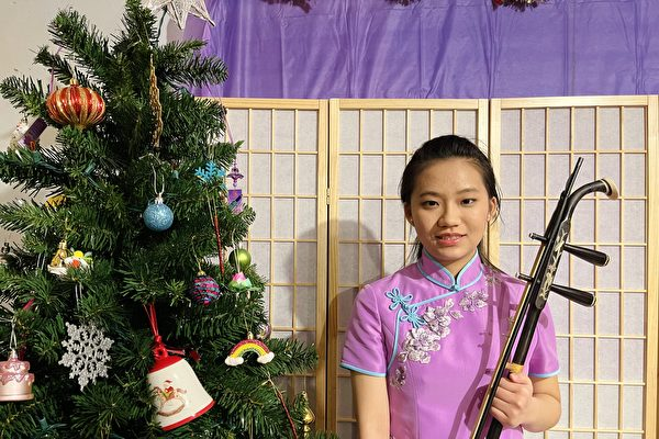 Chen Fayuan, a 16-year-old Falun Gong practitioner whose parents were kidnapped by the CCP. She is studying in the United States. (Li Guixiu/The Epoch Times)
