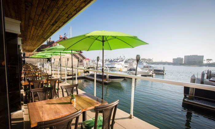 Billy's at the Beach is among several Newport  Beach restaurants that offer dock-and-dine options. (Courtesy of Billys at the Beach)