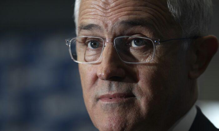 BRISBANE, AUSTRALIA -  Prime Minister Malcolm Turnbull  (Stefan Postles/Getty Images)