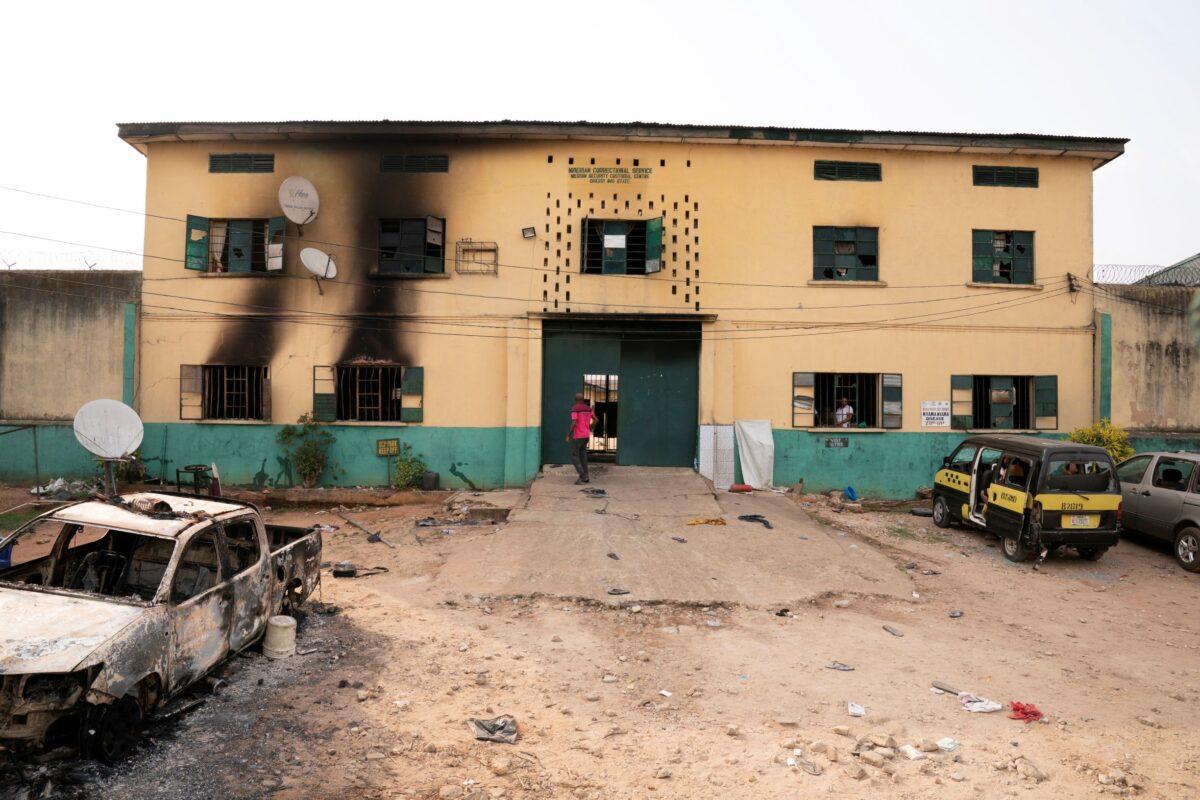 Gunmen attack Nigerian prison