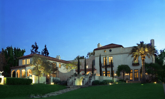 A dream-like Spanish Colonial-style house in the Pasadena Arroyo area of California. (Philip Clayton Thompson)