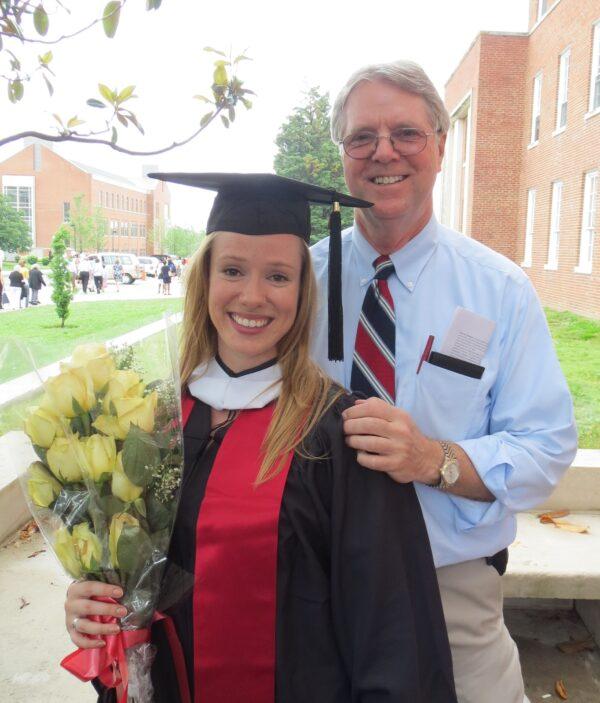 Natalia graduates University of Maryland 2012