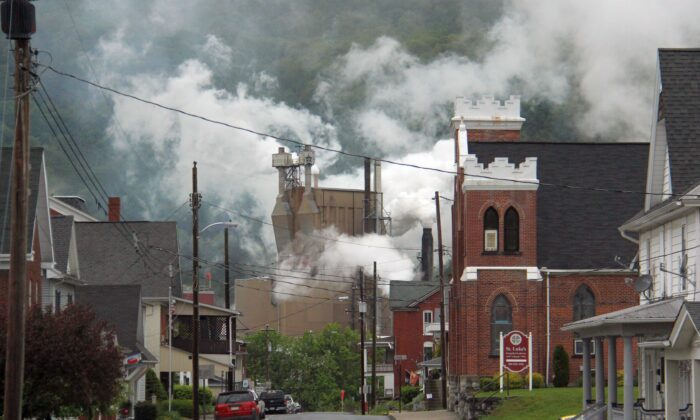 A view of Roaring Spring, Pennsylvania, on May 21, 2016. (Ron Shawley via Wikimedia Commons)