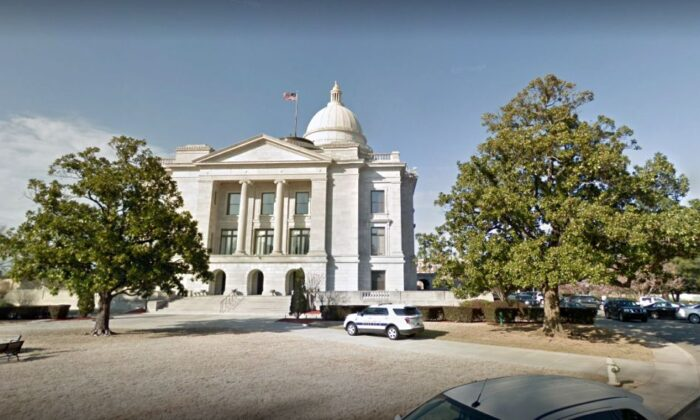 The Arkansas Capitol building in Little Rock. (Google Maps)