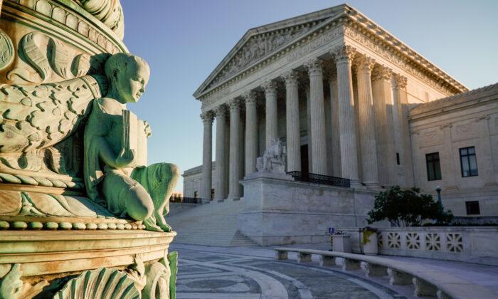 The U.S. Supreme Court in Washington on Oct. 5, 2020. (J. Scott Applewhite/AP Photo)