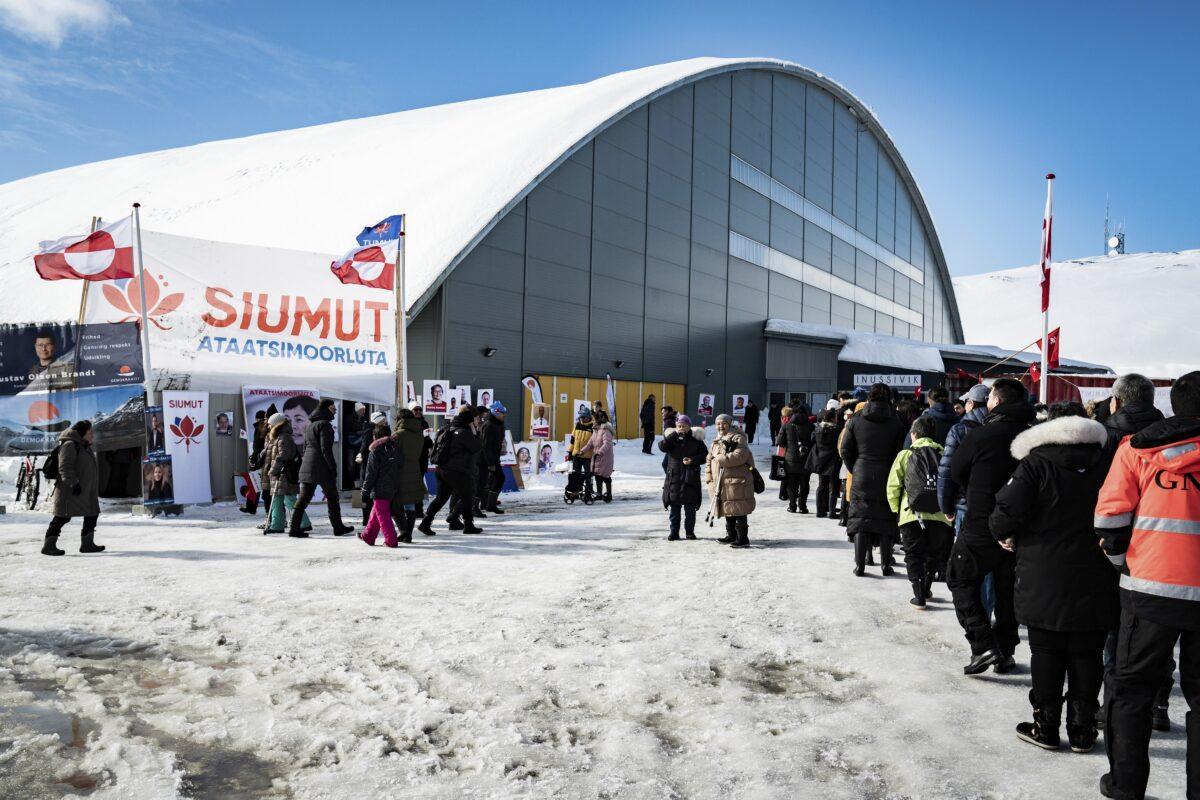 Denmark Greenland Election