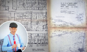 Grandad Scrounges Rare WWII Ship Plans for 25 Pounds–and They Could Be Worth 4,000 Pounds