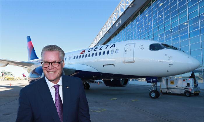 Delta CEO Ed Bastian. (Curtis Compton/Atlanta Journal-Constitution/TNS)