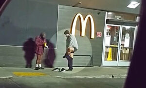 Man Removes His Sweatpants, Gifts Them to Homeless Man Shivering on a Cold Night: Video
