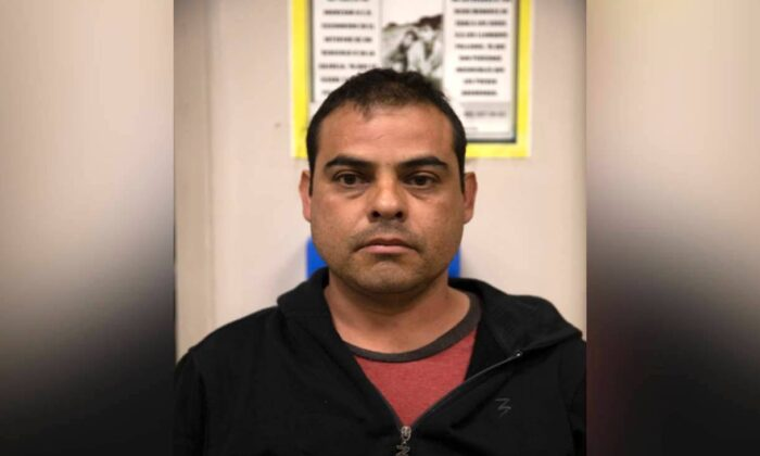 A citizen of Mexico and convicted rapist was arrested by U.S. border agents in California on April 5, 2021. (U.S. Customs and Border Protection)