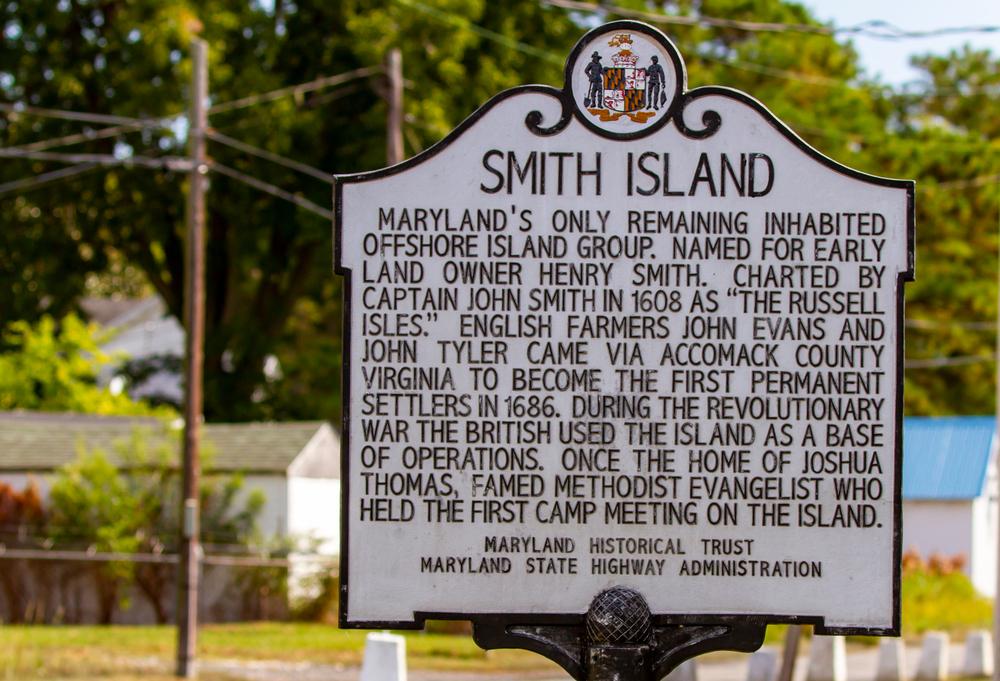 Smith,Island,,Maryland,-,September,20,,2019,:,Historical,Placard