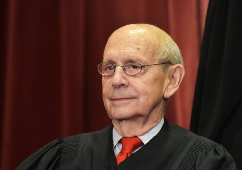 US-JUSTICE-SUPREME-COUrt stephen breyer