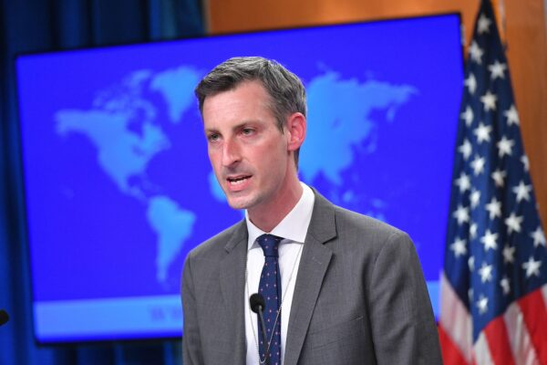 U.S. State Department Spokesman Ned Price