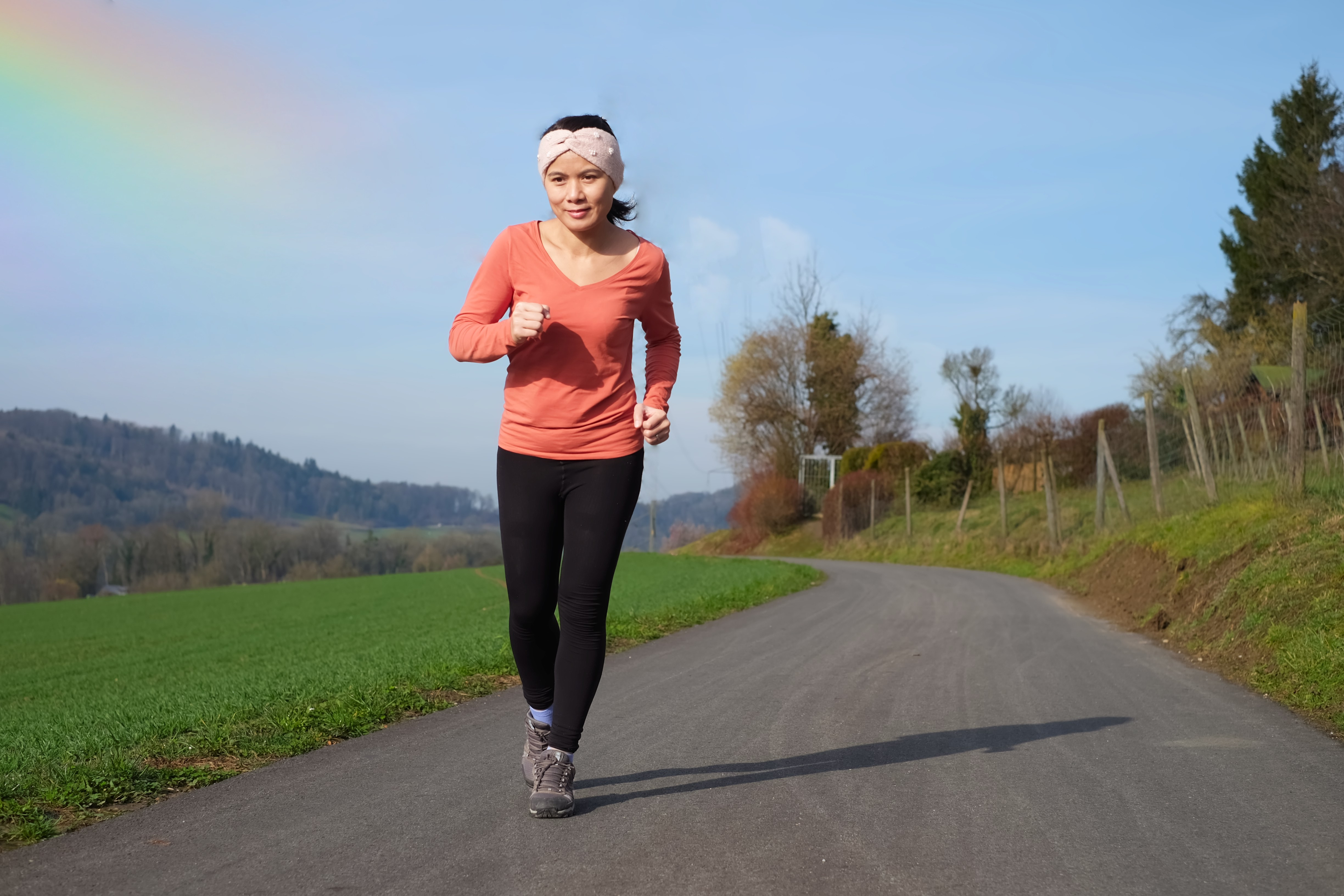 Spring is a great time to take up some gentle exercise to lose any excess weight you gained over the winter. (Kinnaree/Shutterstock)