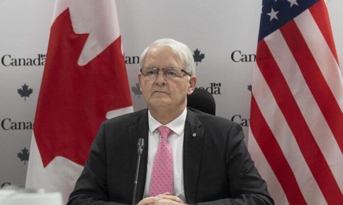 Foreign Affairs Minister Marc Garneau. (The Canadian Press)