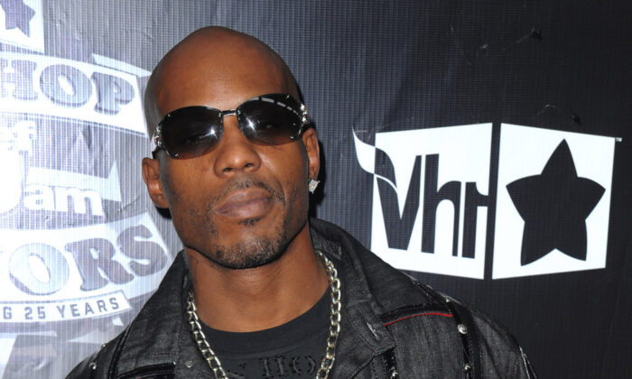 DMX arrives at the 2009 VH1 Hip Hop Honors at the Brooklyn Academy of Music, in New York City on Sept. 23, 2009. (Peter Kramer/AP Photo)