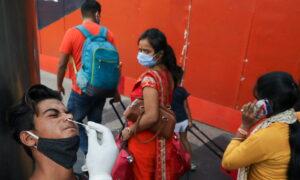 India's Record COVID-19 Surge Continues