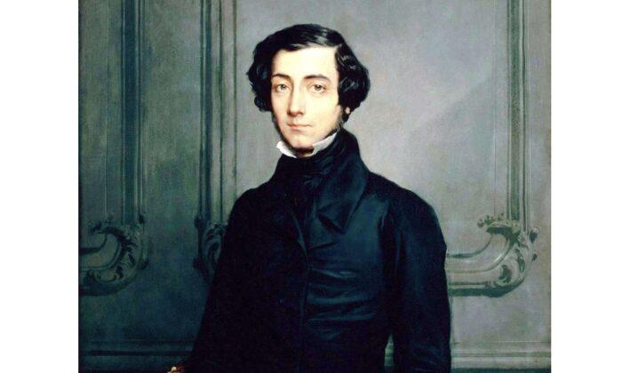A portrait of Alexis de Tocqueville by Théodore Chassériau, 1850. (Public domain)