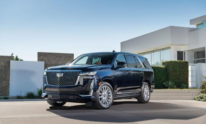 2021 Cadillac Escalade. (Courtesy of Cadillac)