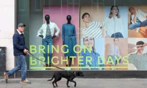 After Dire Year England's Shops Hope for End-of-Lockdown Shopping Spree