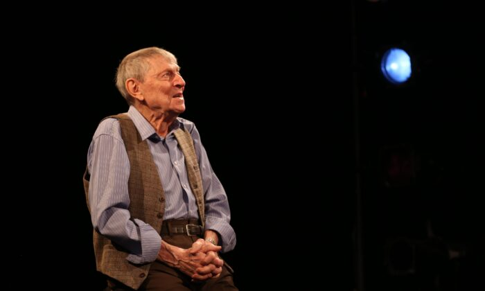 "John Cullum sings and talks about his theatrical career in ""John Cullum: An Accidental Star."" (Carol Rosegg)"