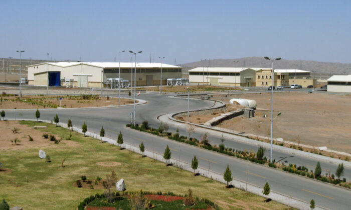 A view of the Natanz uranium enrichment facility 250 km (155 miles) south of the Iranian capital Tehran, on March 30, 2005. (Raheb Homavandi/Reuters)