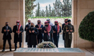 Jordan's King Abdullah and Estranged Prince Hamza Make First Joint Appearance Since Rift