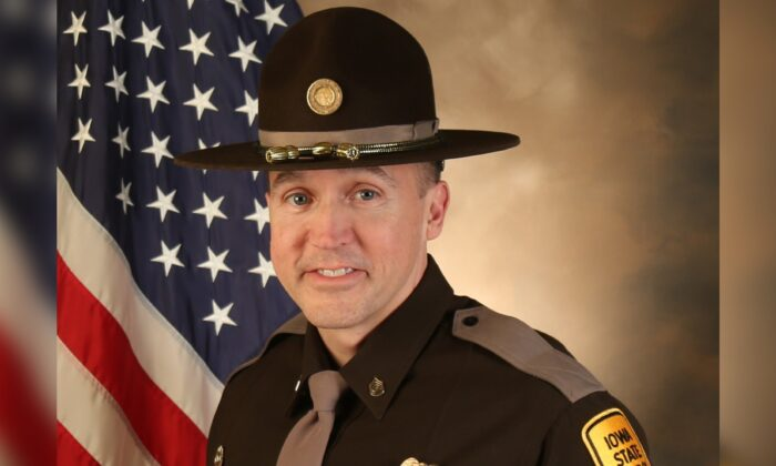 Sgt. Jim Smith in a file photo. (Iowa State Patrol)