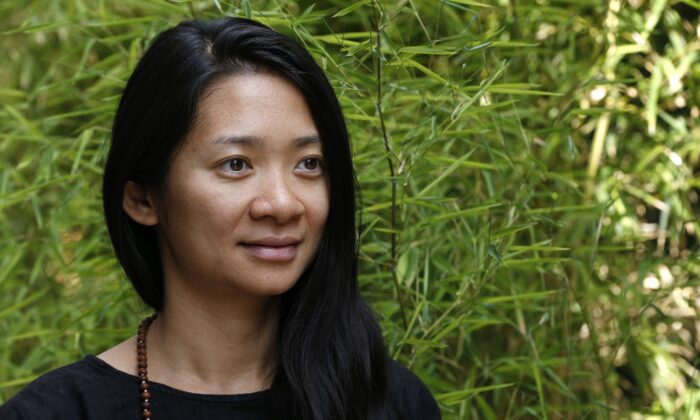 Chinese film director Chloe Zhao poses in Paris, France, on Sept. 2, 2015. (Francois Guillot/AFP via Getty Images)