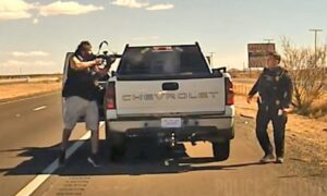 Chilling Footage Shows New Mexico Officer's Shooting Death During Traffic Stop