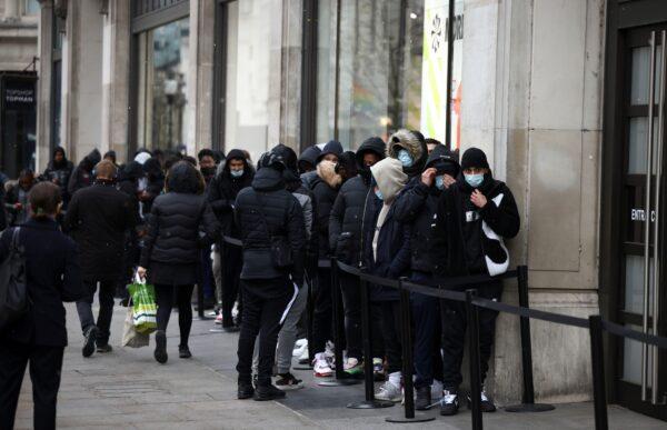 The coronavirus disease (COVID-19) restrictions ease, in London