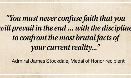 The Story of a Vietnam War Veteran: The Stockdale Paradox
