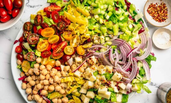 This No-Wilt Italian Chopped Salad Is the Make-Ahead Lunch You Need