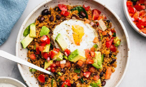 Smoky Quinoa Taco Bowls Are the Ultimate High-Protein, Veggie-Packed Lunch