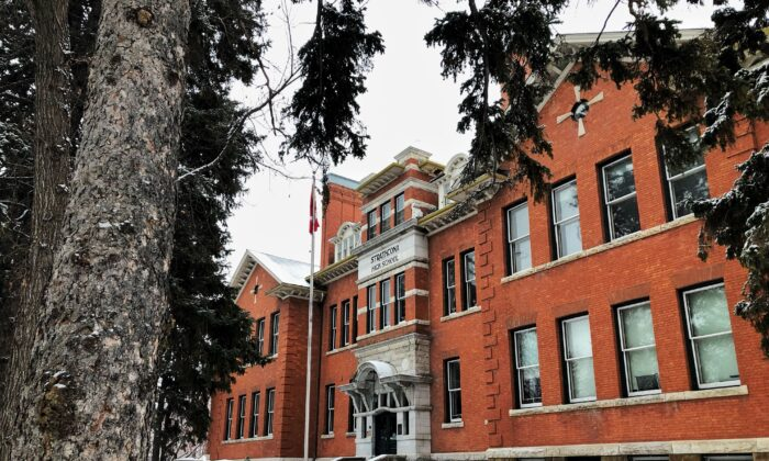 Old Strathcona High School in Edmonton in a file photo. (Robert Vincelli/Shutterstock)