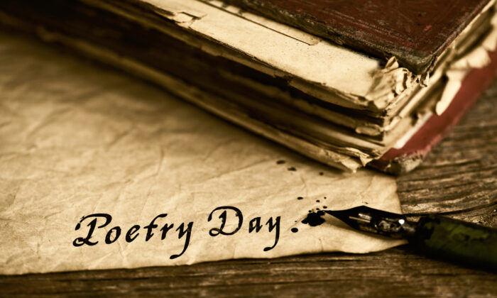 Make today Poetry Day. April is National Poetry month. (Nito/Shutterstock)