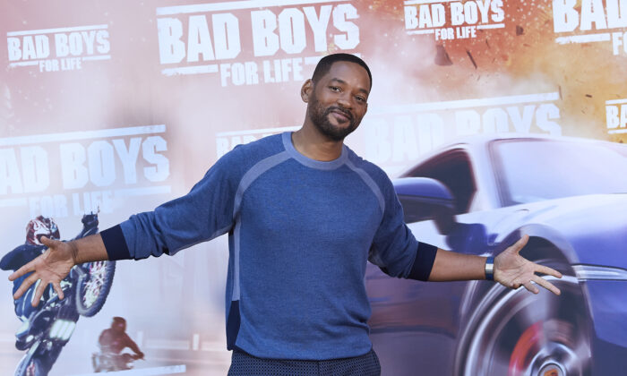Actor Will Smith attends 'Bad Boys For Life' photocall at the Villamagna Hotel on Jan. 08, 2020 in Madrid, Spain. (Carlos Alvarez/Getty Images)