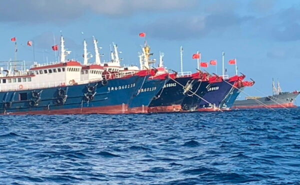 Chinese ship in South China Sea