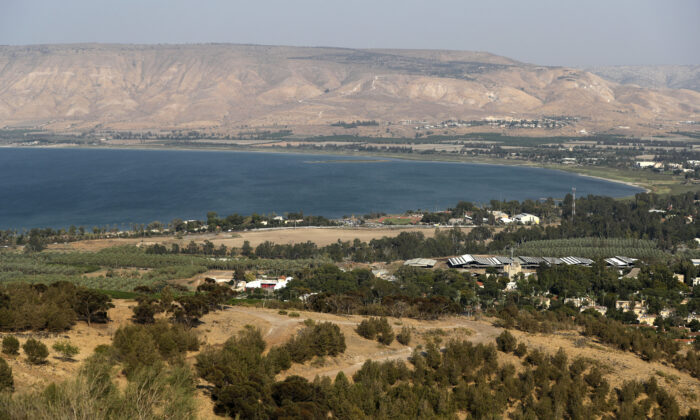 A general view of the Sea of Galilee in northern Israel on Aug. 30, 2018. (Ahmad Gharabli/AFP via Getty Images)