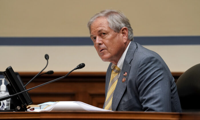 Rep. Ralph Norman (R-S.C.) is seen on Capitol Hill in Washington on Sept. 30, 2020. (Greg Nash-Pool/Getty Images)