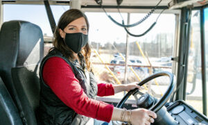 School Principal Gets Behind the Wheel to Take Students Home Amid Bus Driver Shortage