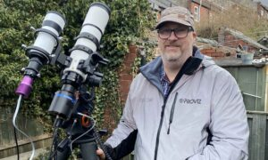 Amateur Astronomer Sets Up Camera in Backyard, Snaps Stunning Space Photos 1,350 Light-Years Away