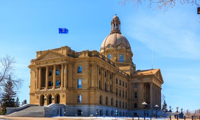 The Alberta Legislature in Edmonton in a file photo. (Achinthamb/Shutterstock)