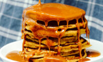 Sticky Toffee Pancakes