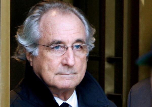 Accused swindler Bernard Madoff