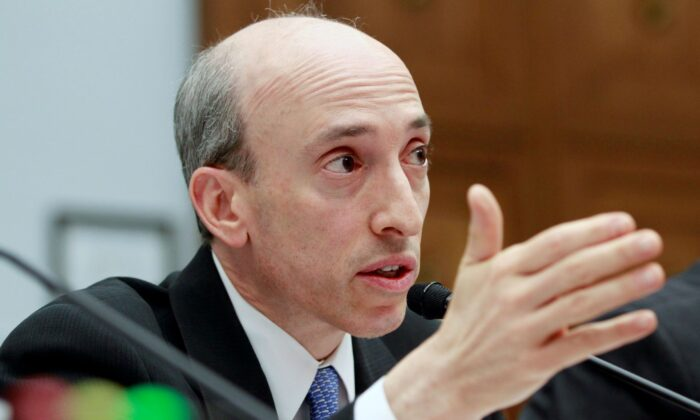 Commodity Futures Trading Commission chairman Gary Gensler testifies before the House Financial Services Committee on Capitol Hill in Washington on June 19, 2012. (Jacquelyn Martin/AP Photo)