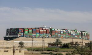Dislodged Ship Held in Suez Canal as Talks Continue Over $916 Million Claim